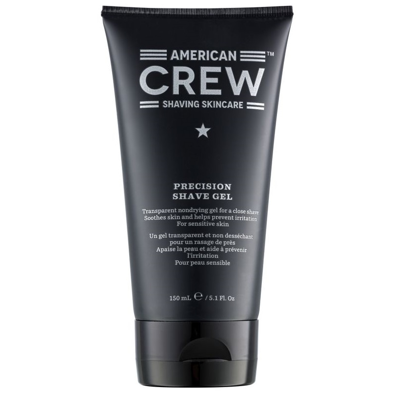 American Crew Precision Shave Gel 150ml - GLOSSY.se ae68d815d6532