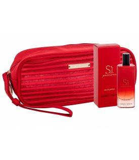 Giftset Giorgio Armani Si Passione Edp 15ml + Cosmetic Bag
