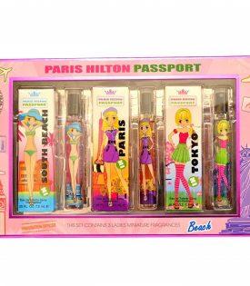 Giftset Paris Hilton Passport Edt 7.5ml x 3