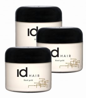 3-pack ID Hair Hard Gold Wax 100ml