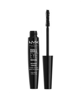 NYX PROF. MAKEUP Doll Eye Mascara Waterproof Black