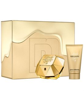 Giftset Paco Rabanne Lady Million Edp 50 ml + Body Lotion 75ml