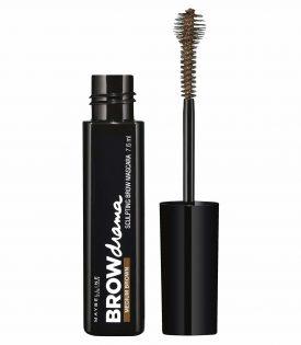 Maybelline Brow Drama Sculpting Eyebrow Mascara Medium Brown