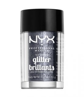 NYX PROF. MAKEUP Face & Body Glitter - Gunmetal 2,5g