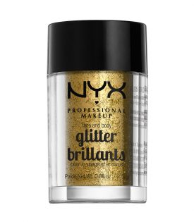NYX PROF. MAKEUP Face & Body Glitter - 05 Gold 2,5g