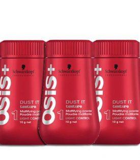 3-pack Schwarzkopf Osis Dust It