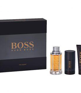 Giftset Hugo Boss The Scent Edt 100ml + SG 50ml + Dst 75ml