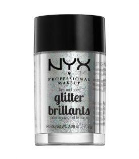 NYX PROF. MAKEUP Face & Body Glitter - 07 Ice 2,5g