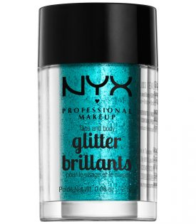 NYX PROF. MAKEUP Face & Body Glitter - Teal 2,5g