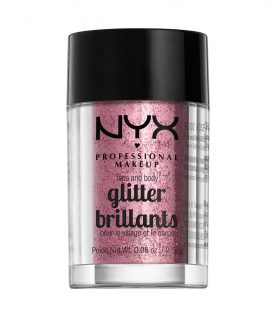 NYX PROF. MAKEUP Face & Body Glitter - 02 Rose 2,5g