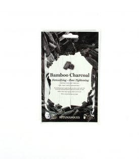 Vitamasques Bamboo Charcoal (1 pc) Detoxifying + Pore Tightening