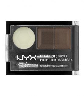 NYX PROF. MAKEUP Eyebrow Cake Dark Brown