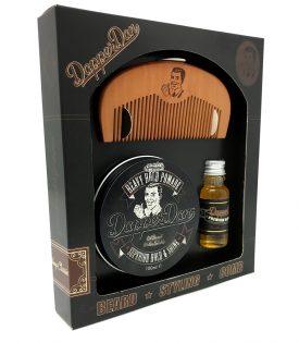 Dapper Dan Hairy Man Combo Gift Set - Deluxe Pomade