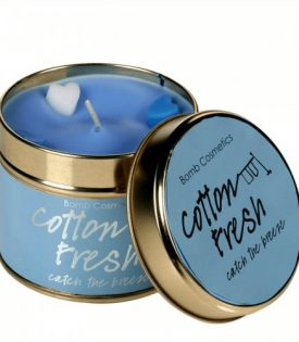 Bomb Cosmetics Tin Candle Cotton Fresh