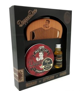 Dapper Dan Hairy Man Combo Gift Set - Matt Clay