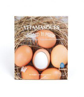 Vitamasques Sleep In 3d Masks - Egg ( 2 pods) + Moisturising