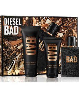 Giftset Diesel Bad Edt 75ml + SG 100ml + SG 50ml