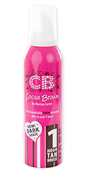 Cocoa Brown 1 Hour Tan Mousse Dark 150ml