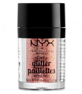 NYX PROF. MAKEUP Metallic Glitter Dubai Bronze 2,5g