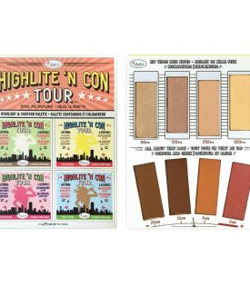 theBalm Highlite N Con Tour Highlight & Contour Palette