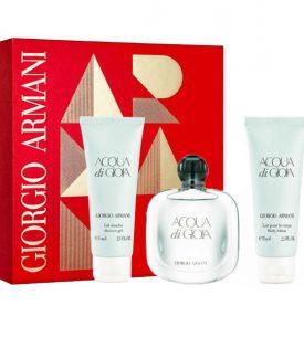 Giftset Giorgio Armani Acqua Di Gioia Edp 50ml + BL 75ml + SG 75ml