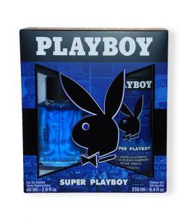 Giftset Playboy Super Playboy Edt 60ml + SG 250ml