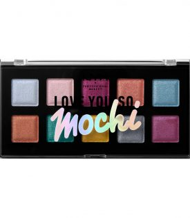 NYX PROF. MAKEUP Love You So Mochi Eyeshadow Palette Electric Pastels