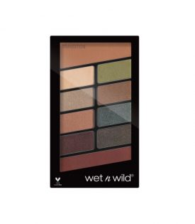 Wet n Wild Color Icon 10-Pan Eyeshadow Palette Comfort Zone