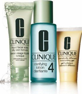 Giftset Clinique 3 step Skin Care System 4