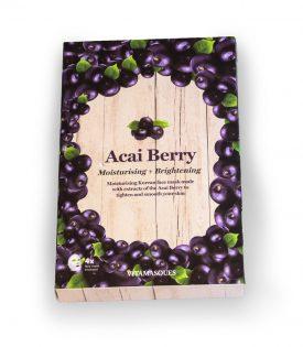 Vitamasques Acai Berry (Box of 4) Moisturising + Brightening