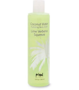 Primal Elements Coconut Water Body Wash Lime Verbena Squeeze 300ml