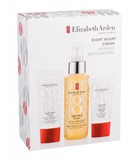 Giftset Elizabeth Arden Eight Hour Cream Miracle Moisturizers 3pcs White Box