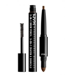 NYX PROF. MAKEUP 3 in 1 Brow - 03 Soft Brown