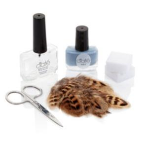 Ciaté Feathered Manicure - Ruffle My Fea