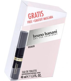 Giftset Bruno Banani Woman Edt 40ml + Mascara 5,3ml