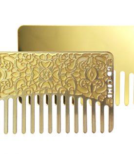 Go Comb Brass Lace Mirror