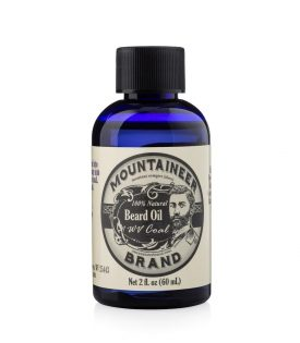 Mountaineer Brand Coal Beard Oil 60ml