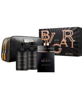 Giftset Bvlgari Man in Black Edp 100ml + ASB 75ml + SG 75ml